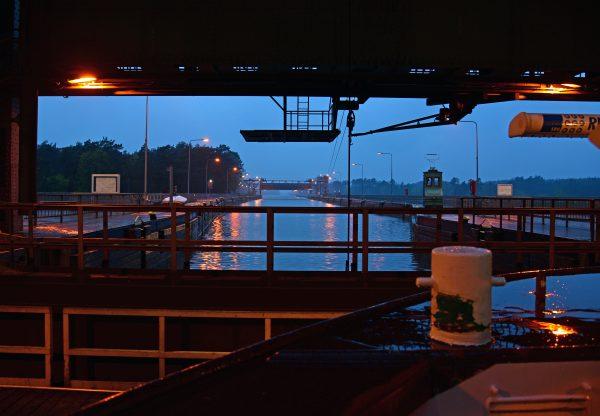 Das Schiffshebewerk in Niederfinow