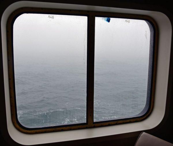 Keine Sicht auf die Bäreninsel