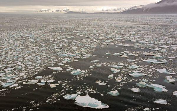 Eismeer in Spitzbergen