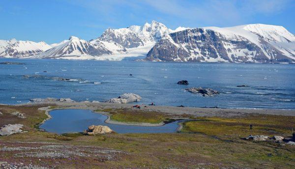 Auf Gnålodden, Spitzbergen