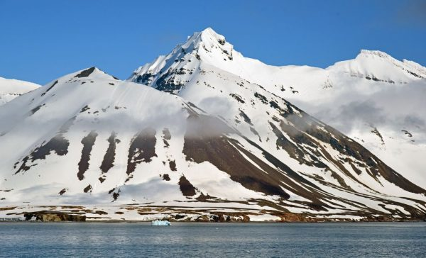 Blick auf Burgerbukta, Spitzbergen