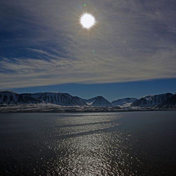 Guten Morgen Spitzbergen