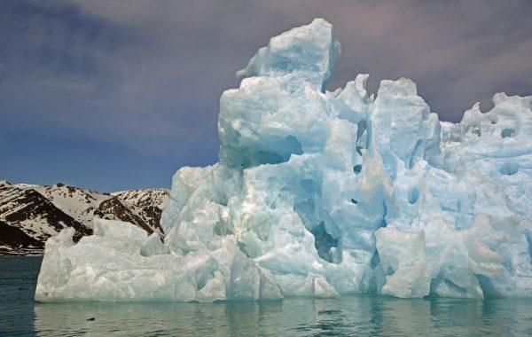 Unterwegs in der Gletscherwelt vom Monacobreen und Seligerbreen, Spitzbergen