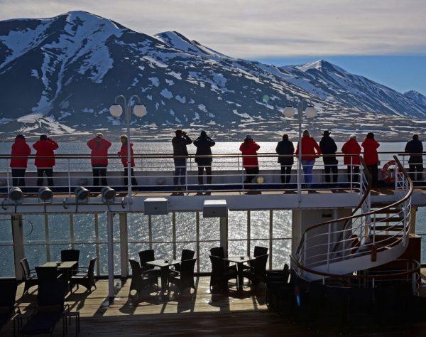 Whale Watching auf der MS Cloud, Spitzbergen