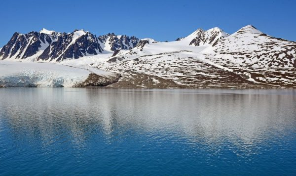Der Berg Stortingspresidenten, Spitzbergen