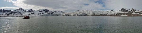 Ein Gletscher bei Alkhornet, Spitzbergen