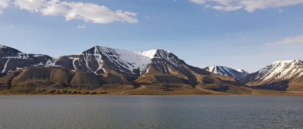 Bei Longyearbyen, Spitzbergen