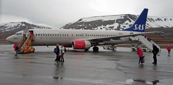 SAS in Spitzbergen