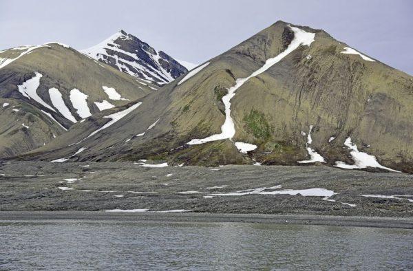 Die Insel Poolepynten, Spitzbergen