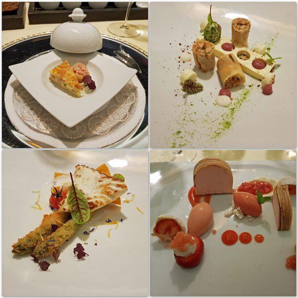 Mein Abendessen im Hotel 'Zur Weinsteige'