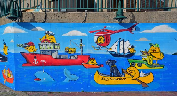 Grafiken in Sydney, Kap-Breton-Insel