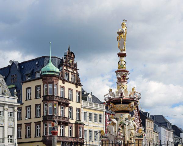 Der Marktplatz von Trier