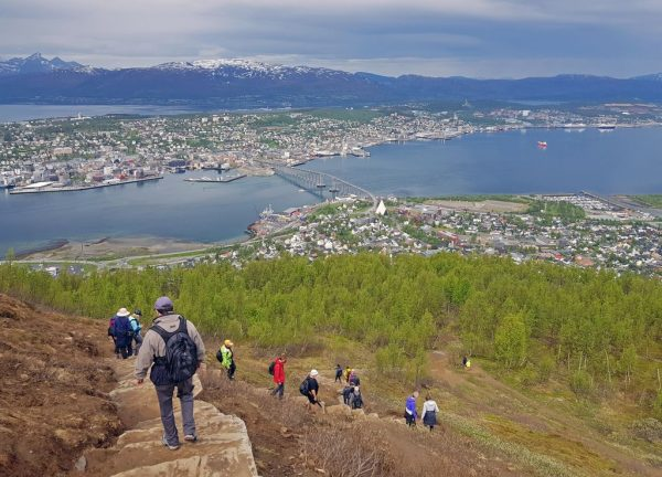 Zurück nach Tromsø, Norwegen