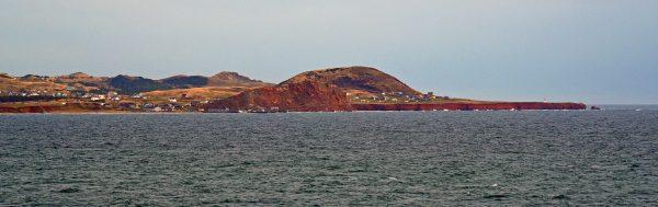 Blick auf die Magdalenen-Inseln