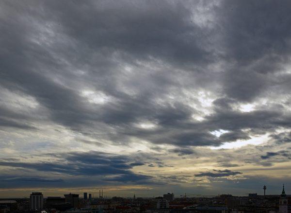Wolken in Wien