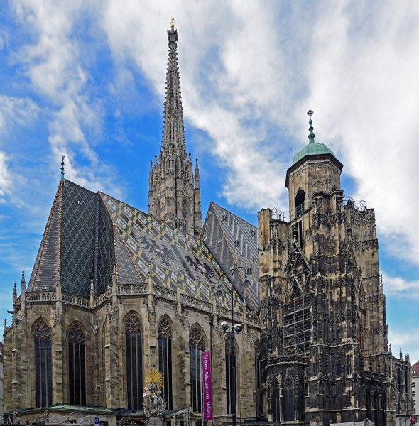 Die Domkirche St. Stephan in Wien