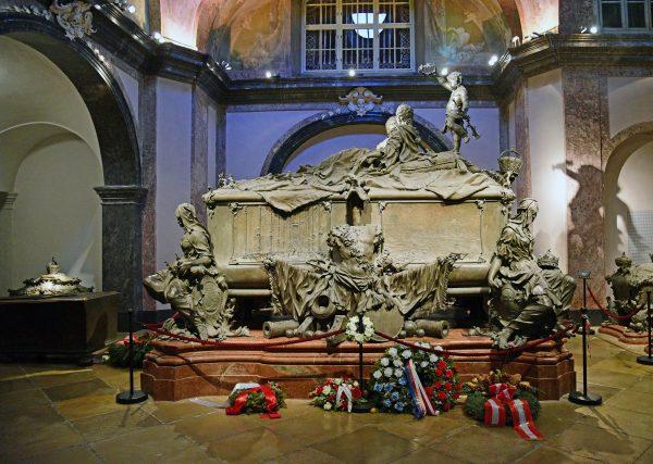 Die Kaisergruft in Wien