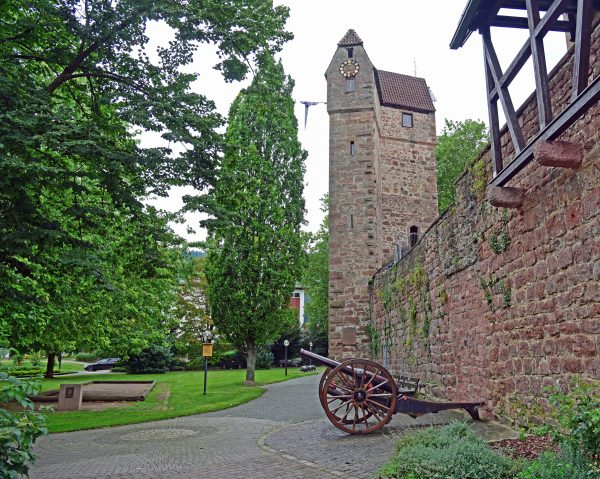 Der Pulverturm von Eberbach