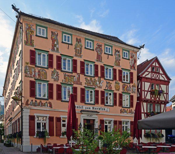 Das Hotel zum Karpfen in Eberbach