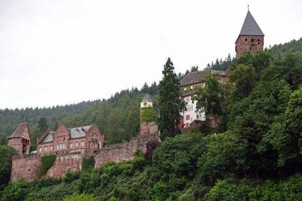 Die Burg Zwingenberg