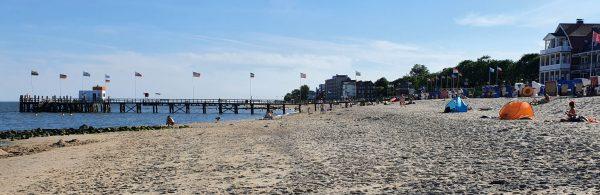 Der Strand von Wyk auf Föhr