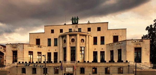 Die französische Botschaft in Belgrad