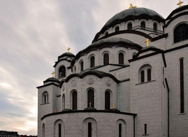 Der Dom des Heiligen Sava in Belgrad