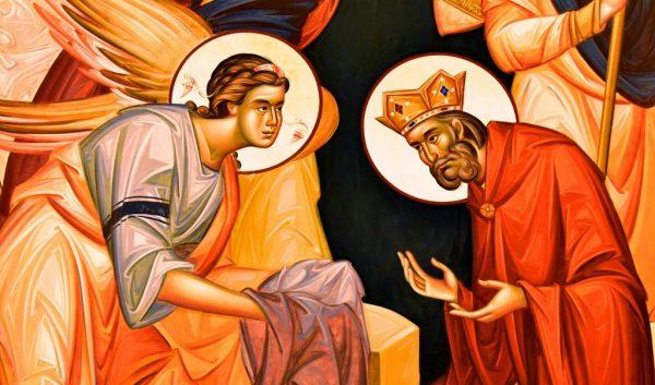 In der Krypta im Dom des Heiligen Sava in Belgrad