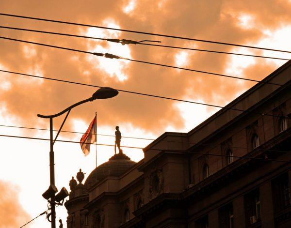 Der Himmel von Belgrad
