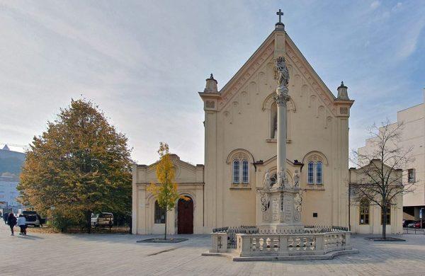 Die Kirche St Stephan in Bratislava