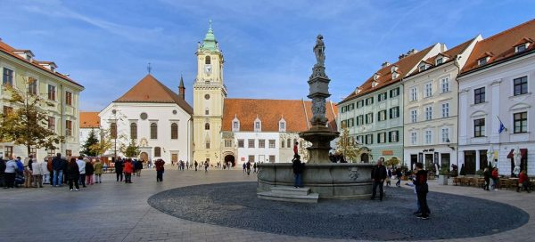 Das alte Rathaus in Bratislava