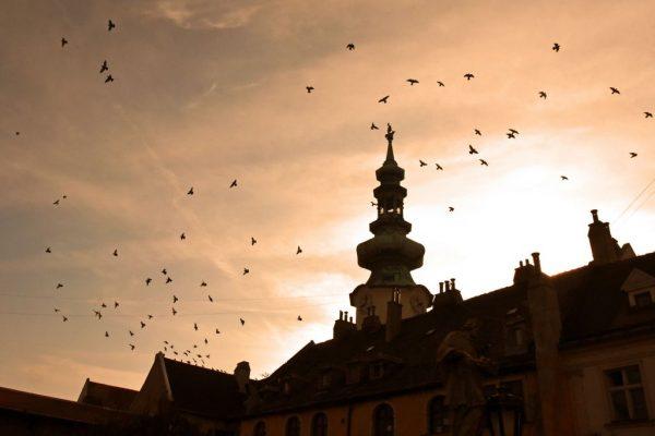 Der Himmel über Bratislava