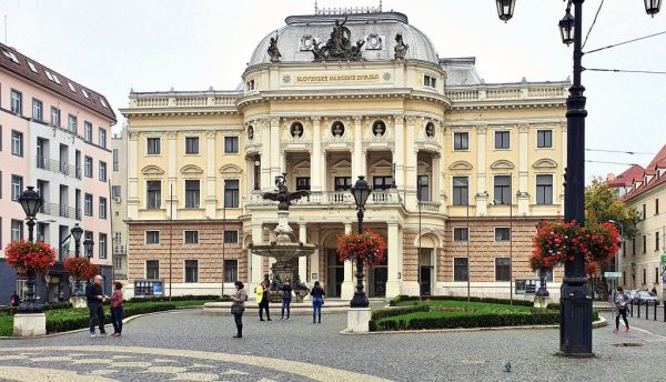 Slowakisches Nationaltheater in Bratislava