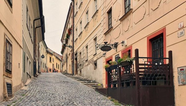 Totentanz in der Altstadt von Bratislava