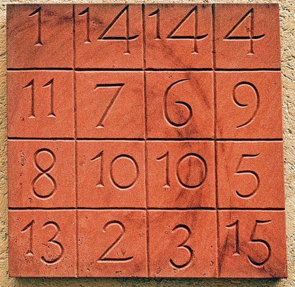 Ein gelöstes Sudoku in Breisach