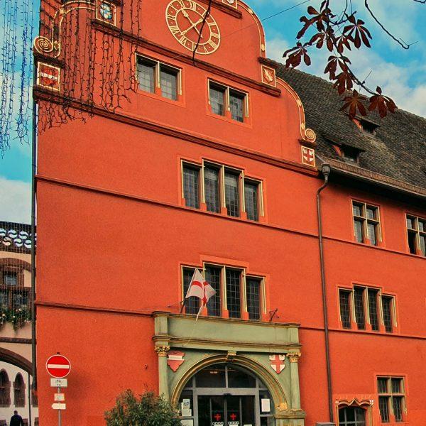 Das alte Rathaus von Freiburg
