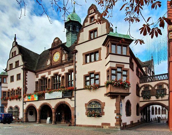 Das neue Rathaus von Freiburg