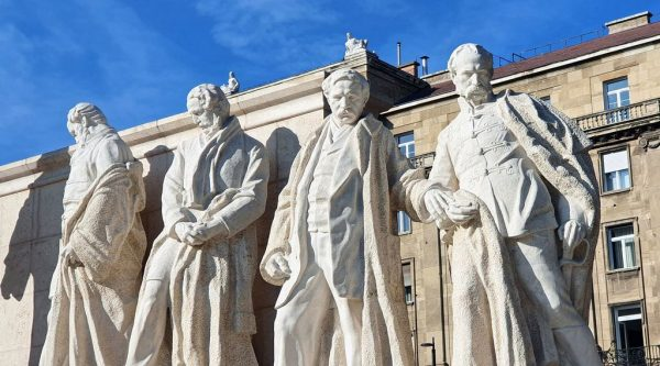 Das Kossuth Denkmal in Budapest