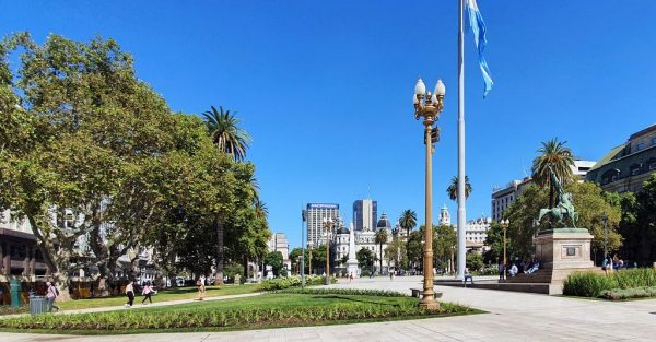 Plaza San Martin in Buenos Aires