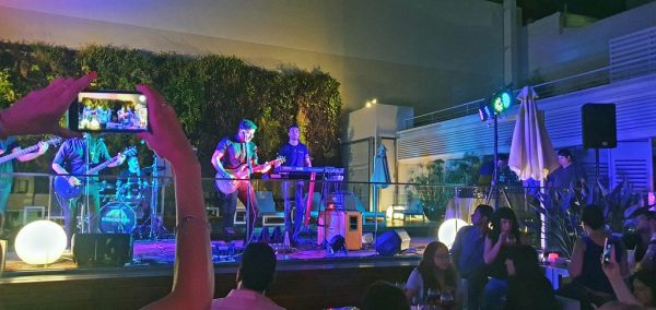 After Rock Party im Novotel in Buenos Aires
