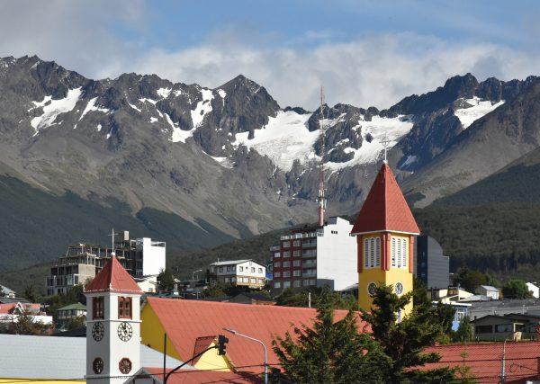 Blick auf Ushuaia