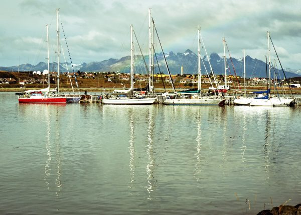Segelboote in Ushuaia