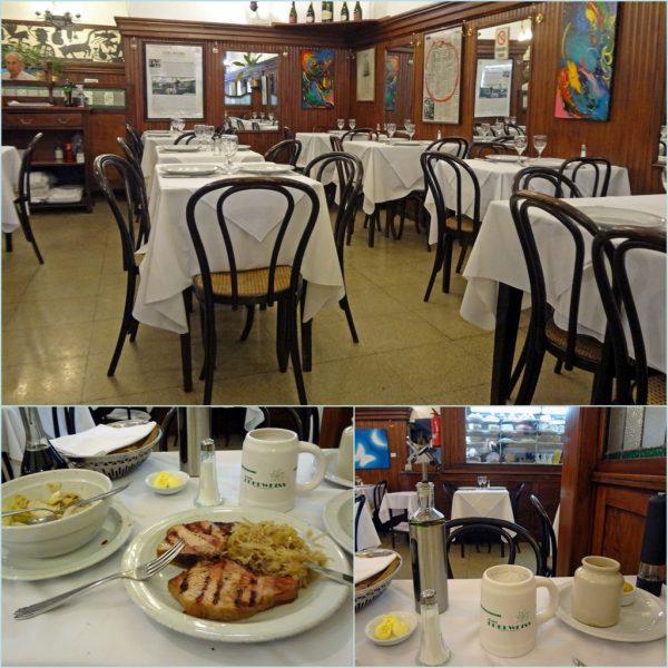 Im Restaurant Edelweiß in Buenos Aires (2013)