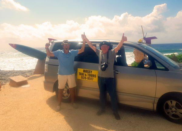 Das Dreamteam auf Cayman Brac