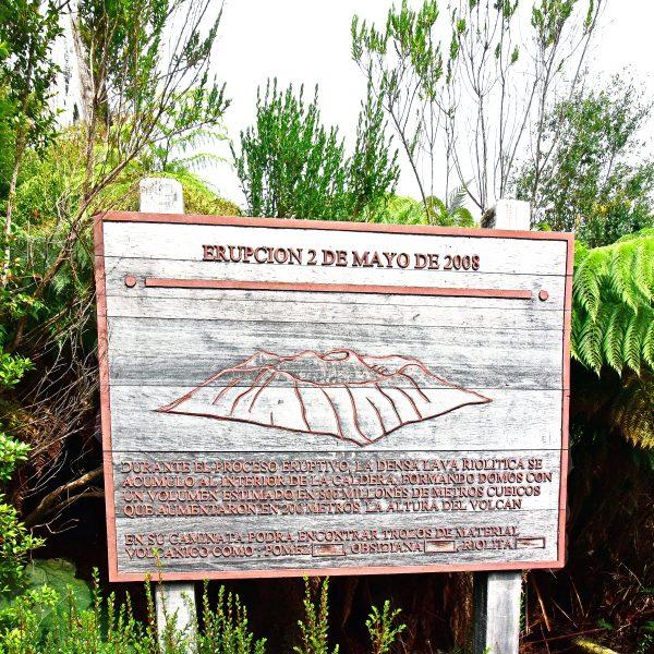 Der Eingang zum Pumalin Douglas Tompkins National Park