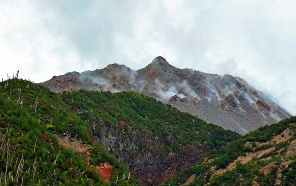 Der Vulkan Chaitén