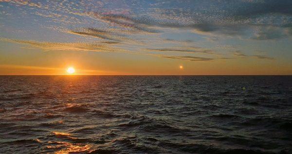 Sonnenuntergang in Chile