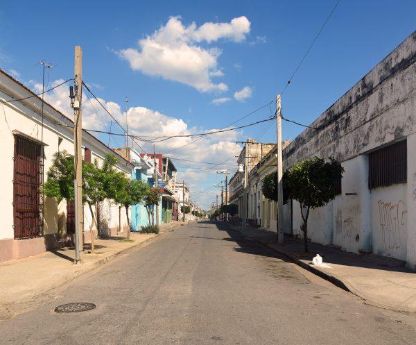Die Straßen von Cienfuegos