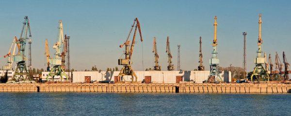 Der Hafen von Tulcea