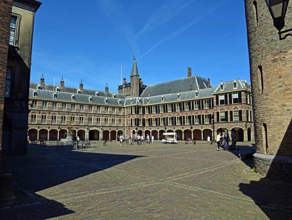 Der Innenbereich des Binnenhof in Den Haag